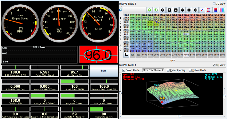 Sample Tuning View 2