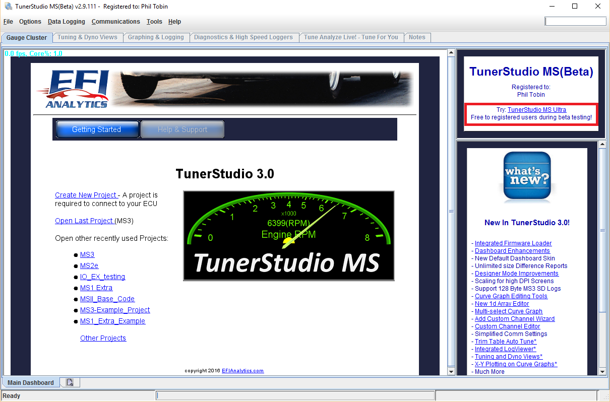 tunerstudio registration key